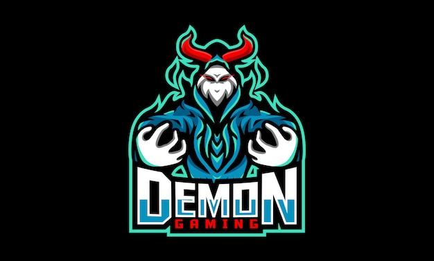 Demon gaming esports logo