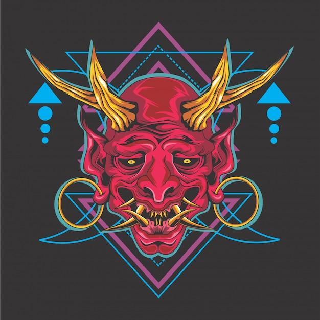 Demônio japonês