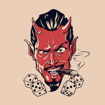Demônio rockabilly