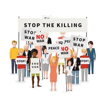 Demonstração anti-guerra