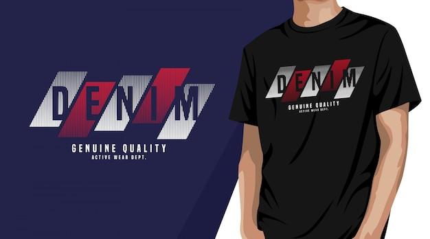 Denim - design de camisetas