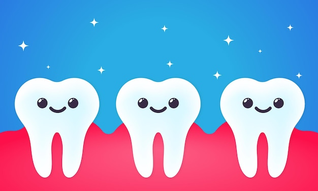 Dentes saudáveis ou cuidados dentários