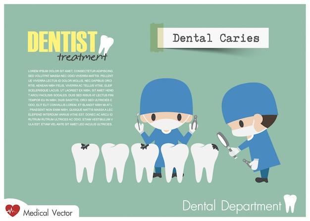Dentista verificar seus dentes