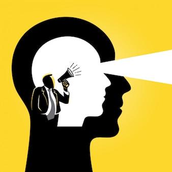 Dentro da mente das pessoas