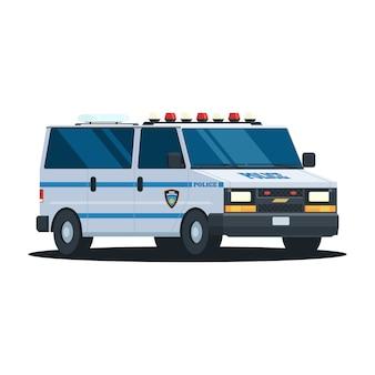 Departamento de polícia de van