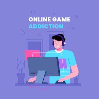 Dependência de jogos online
