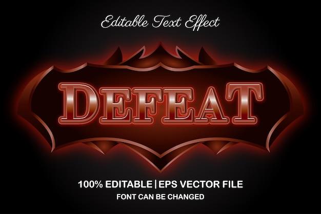 Derrote o efeito de texto editável em 3d para jogos