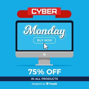 Desconto cyber segunda-feira