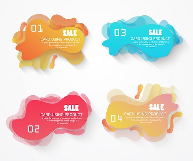 Desconto de diagrama use vetores no design para uso comercial ou comercial