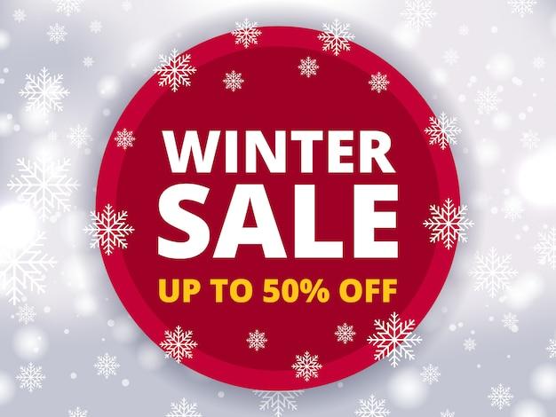 Desconto de venda de inverno