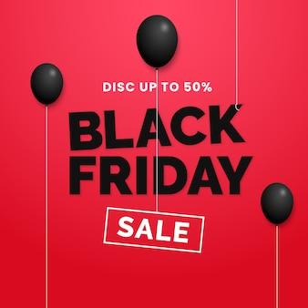 Desconto de venda sexta-feira negra até 50%