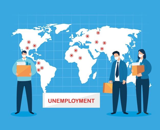Desemprego de empresários devido a pandemia de coronavírus