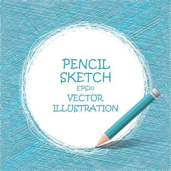 Desenho a lápis esboço.