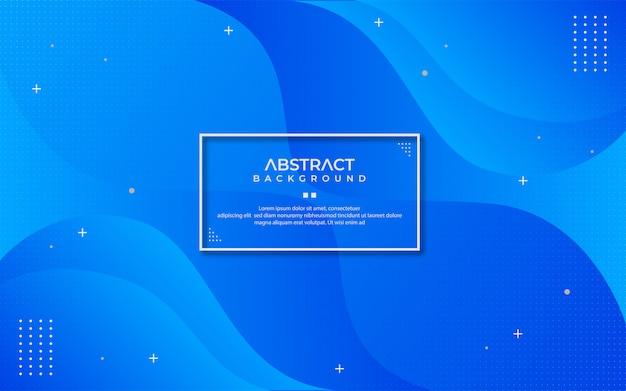 Desenho abstrato clássico fundo azul