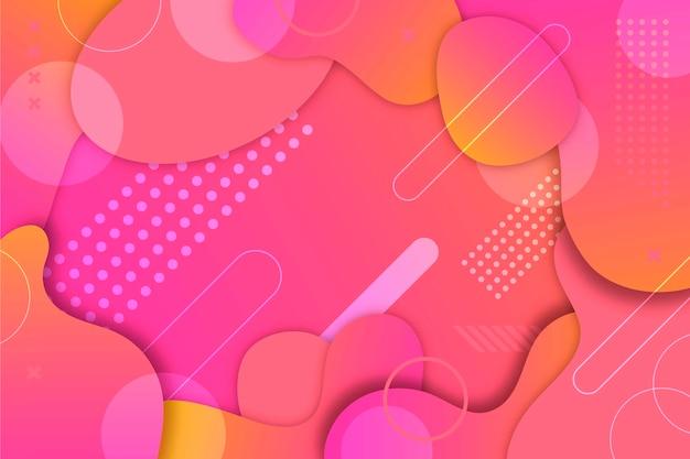 Desenho abstrato colorido