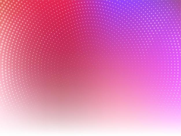 Desenho abstrato de meio-tom colorido