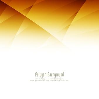 Desenho abstrato de polígono brilhante