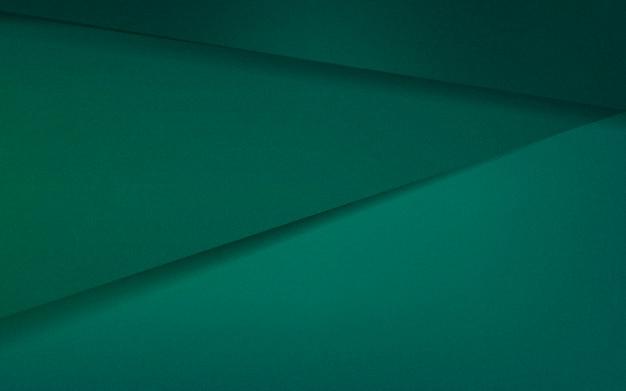 Desenho abstrato em verde esmeralda