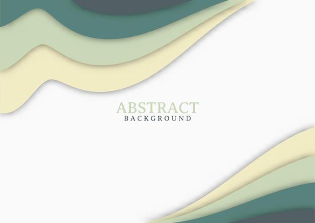 Desenho abstrato moderno com formas onduladas. fundo de design moderno com forma geométrica