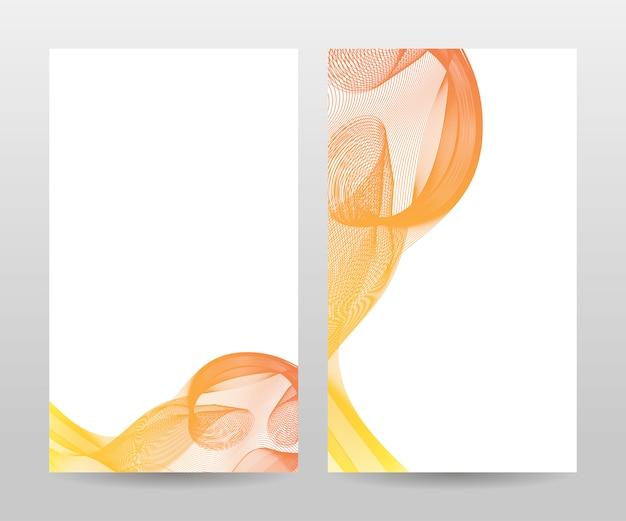 Desenho abstrato para cartões