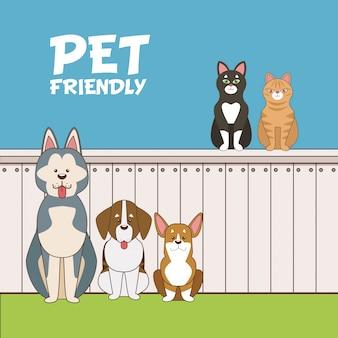 Desenho animado para animais de estimação