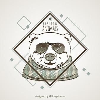 Desenho animais de moda