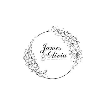Desenho buquê de flores para convite de casamento