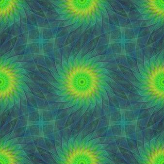 Desenho colorido fractal fundo