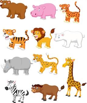 Desenho de animais selvagens