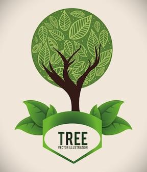 Desenho de árvore