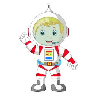 Desenho de astronauta