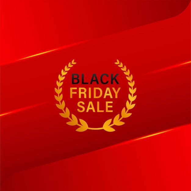 Desenho de banner de venda na sexta-feira negra