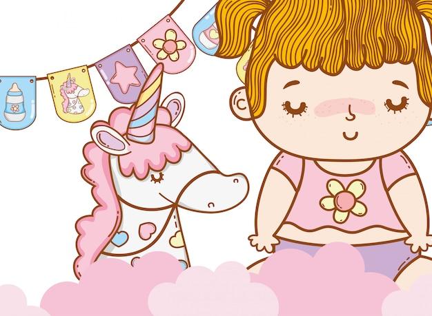 Desenho de bebê fofo