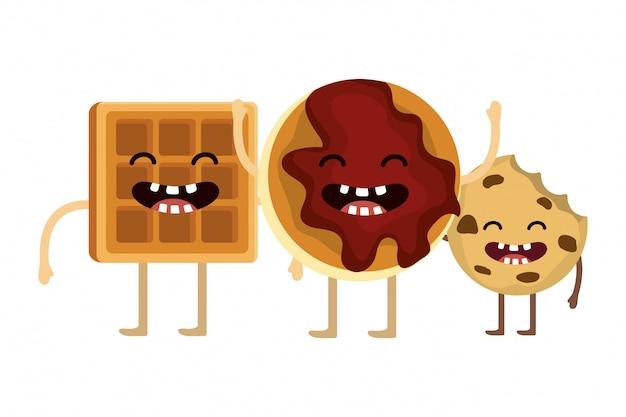 Desenho de biscoito doce