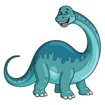 Desenho de brontossauro