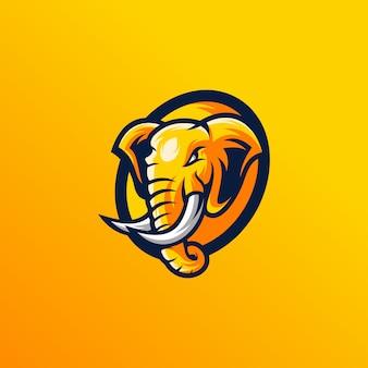 Desenho de cabeça de elefante