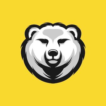 Desenho de cabeça de urso