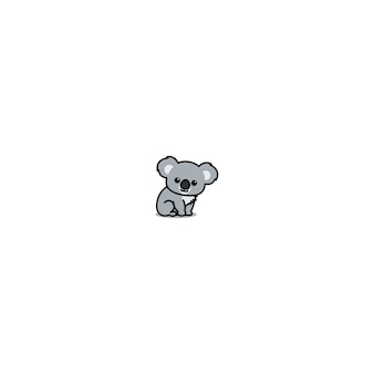Desenho de coala bonito sentado