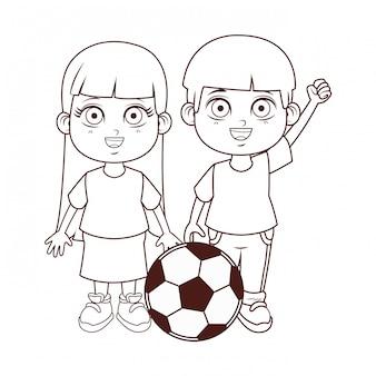 Desenho de crianças cute