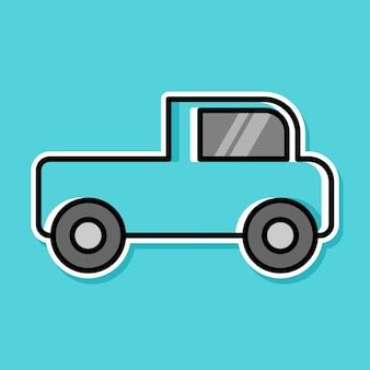 Desenho de desenho animado de carro