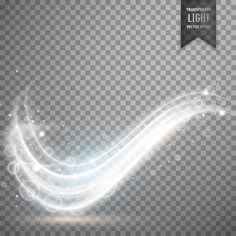 Desenho de efeito de luz branca