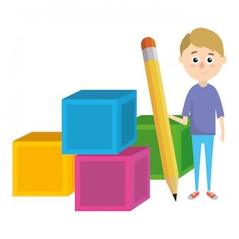 Desenho de escola primária