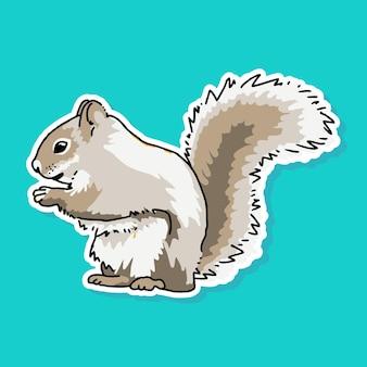 Desenho de esquilo