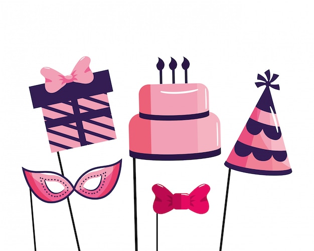 Desenho de feliz aniversário