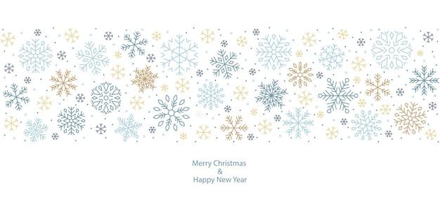 Desenho de floco de neve, neve, natal, padrão, feriado