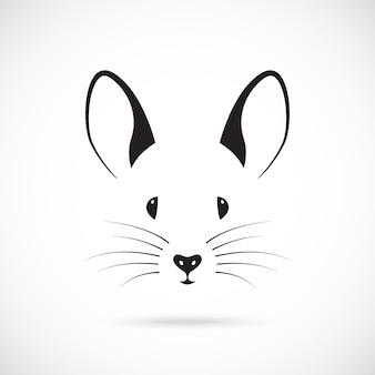 Desenho de focinho de rato fofo