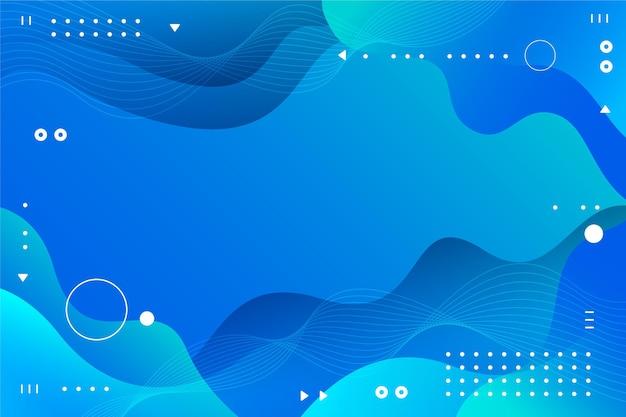 Desenho de fundo abstrato gradiente Vetor Premium
