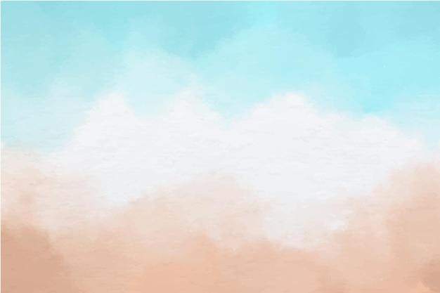 Desenho de fundo aquarela