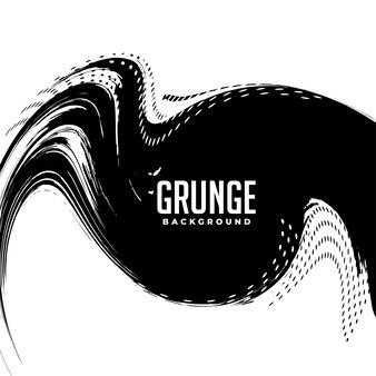 Desenho de fundo de meio-tom do redemoinho do grunge