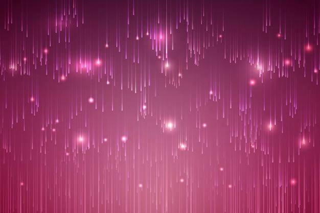 Desenho de fundo de meteoro vermelho